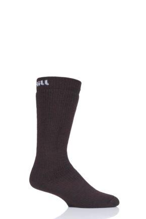 "Mens and Ladies 1 Pair UpHillSport  ""Inari"" Hunting H5 Socks Brown 3-5 Unisex"