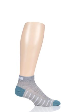 UpHill Sport 1 Pair 3 Layer Low Cut Golf Trainer Socks