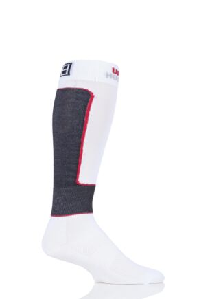"Mens and Ladies 1 Pair UpHill Sport ""Pro"" Anti-cut Ice Hockey L1 Socks"