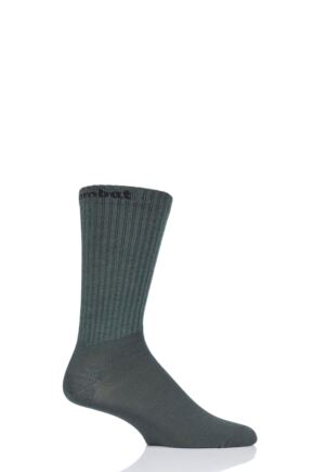 "Mens and Ladies 1 Pair UpHill Sport ""Combat"" Tactical 3-Layer L4 Socks Green 8.5-11 Unisex"