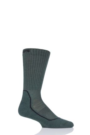 "Mens and Ladies 1 Pair UpHill Sport  ""OPS""  Tactical 4-Layer M5 Socks Green 8.5-11 Unisex"