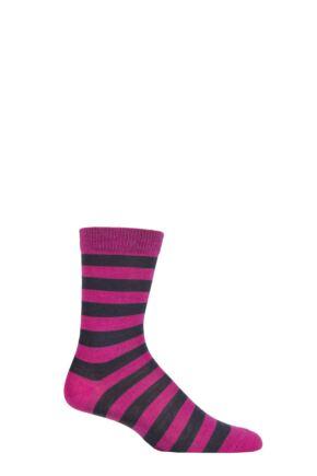UphillSport 1 Pair Vakka Merino Everyday Comfort Socks Lilac / Black 8-11 Unisex