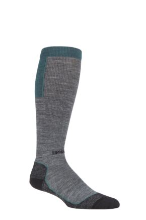UpHillSport 1 Pair Ouna 4 Layer Merino Wool Compression Ski Socks