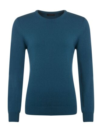 Ladies Great & British Knitwear Touch Of Cashmere Crew Neck Jumper