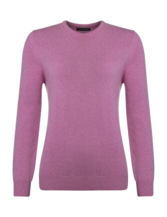 Ladies Great & British Knitwear Touch Of Cashmere Crew Neck Jumper Showbiz B Small