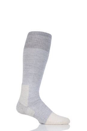 Mens and Ladies 1 Pair Thorlos Extreme Cold Cushioned Ski Socks Grey 8.5-12 Unisex