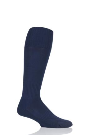 Mens 1 Pair SockShop of London Made in the UK Plain Football Socks