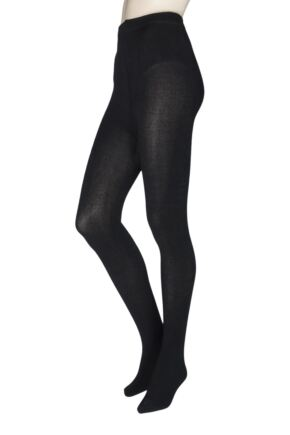 Ladies 1 Pair Elle Brushed Inside Bamboo Tights