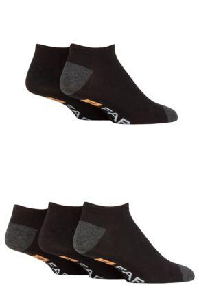 Mens 5 Pair Farah Bamboo Trainer Socks