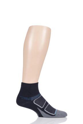 Feetures 1 Pair Elite Ultra Light Cushion Quarter Socks
