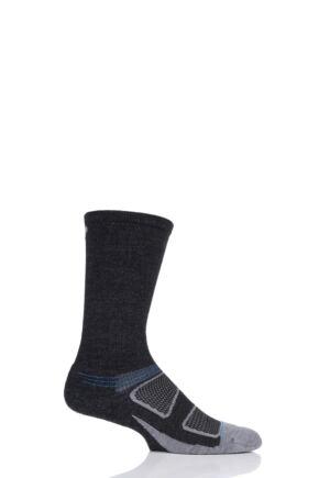 Feetures 1 Pair Elite Merino Wool Cushioned Crew Socks