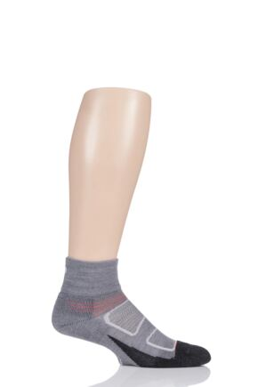 Feetures 1 Pair Elite Merino Wool Cushioned Quarter Socks