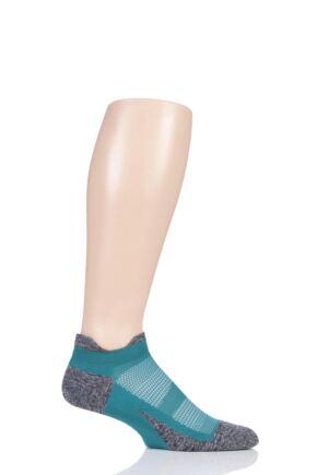 Feetures 1 Pair Elite Ultra Light Cushion Trainer Socks