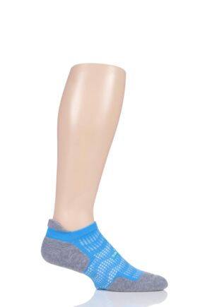 Feetures 1 Pair High Performance 2.0 Light Cushion Trainer Socks
