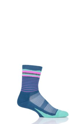 Mens and Ladies 1 Pair Feetures Elite Light Cushion Mini Crew Socks