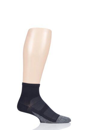 Mens and Ladies 1 Pair Feetures Elite Ultra Light Quarter Socks