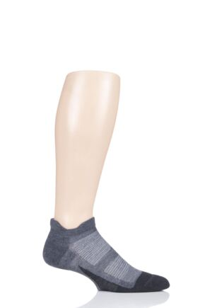 Mens and Ladies 1 Pair Feetures Merino 10 Light No Show Socks