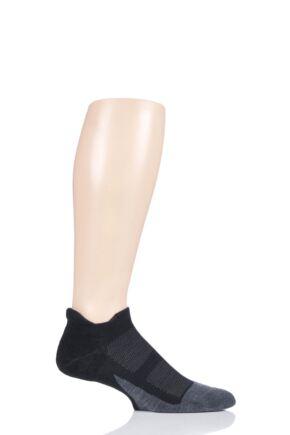 Mens and Ladies 1 Pair Feetures Merino 10 Ultra Light No Show Socks