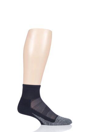Mens and Ladies 1 Pair Feetures Merino 10 Ultra Light Quarter Socks