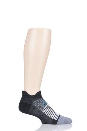 Mens and Ladies 1 Pair Feetures Elite Max Cushioned Running Socks