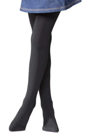 Girls 1 Pair Heat Holders 0.52 Tog Thermal Tights