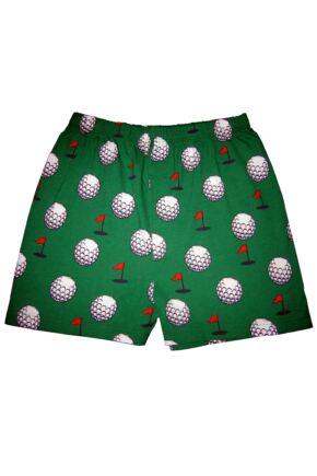 Mens 1 Pair Magic Boxer Shorts In Golf Pattern