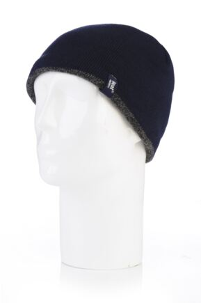 9a01484a91c7e Mens 1 Pack Heat Holders Contrast Thermal Hat