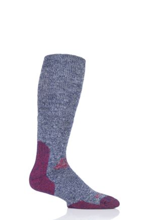 Mens and Ladies 1 Pair HJ Hall ProTrek Longer Length Cushioned Comfort Top Mountain Socks
