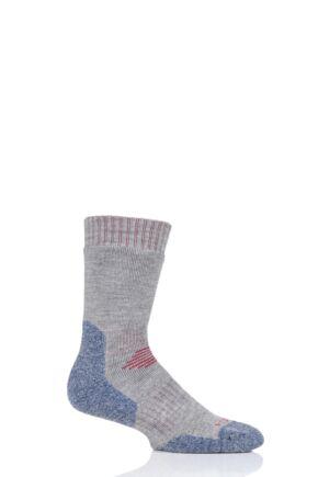 Mens and Ladies 1 Pair HJ Hall ProTrek Dual Skin Anti Blister Walking Socks