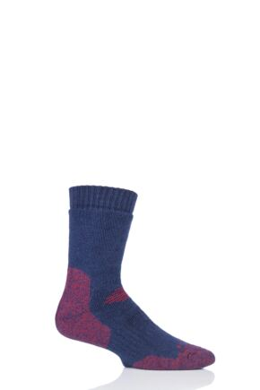 Mens and Ladies 1 Pair HJ Hall ProTrek Dual Skin Anti Blister Walking Socks