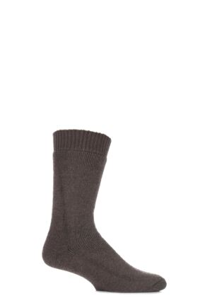 Mens and Ladies 1 Pair HJ Hall ProTrek Rambler Wool Walking Socks Olive 4-7