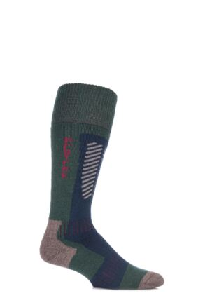 Mens 1 Pair HJ Hall ProTrek Extreme Merino Wool Technical Heavy Weight Socks Bottle 6-8.5