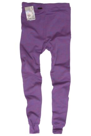 Ladies 1 Pack Ussen Baltic Thermal Long Johns Purple Haze S