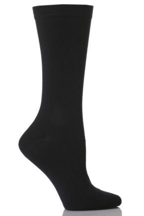 Kids 1 Pair SockShop Colours Outstanding Quality and Value Plain Navy Cotton Socks