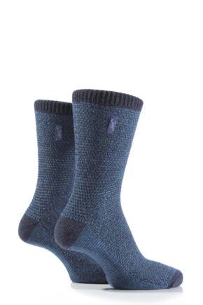 Ladies 2 Pair Jeep Urban Trail Wool Birdseye Knit Boot Socks
