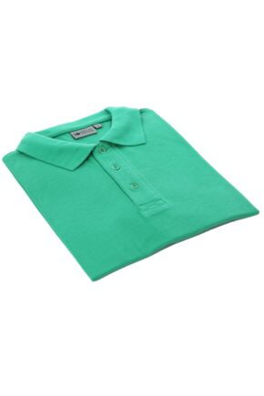 Mens and Ladies Workforce Short Sleeved Polo Shirt In Emerald Green