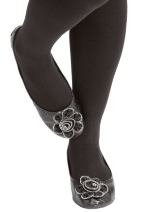 Ladies 1 Pair Rollasole Deluxe Range Midnight Rose Shoes