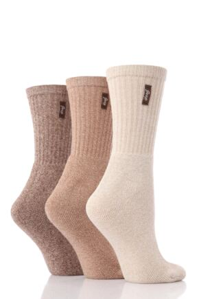 Ladies 3 Pair Jeep Terrain Leisure Socks