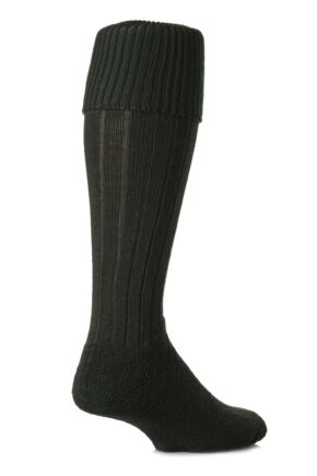 Mens 1 Pair SOCKSHOP of London Knee Length Wool Rib Walking Socks