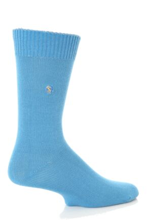 Mens 1 Pair SockShop Colour Burst Cotton Sock In 23 Colours
