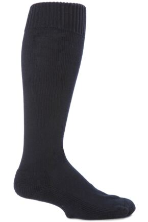 Mens 1 Pair SockShop of London Cotton Riding Socks With Cushion Sole In 3 Colours