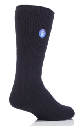 Mens 1 Pair SOCKSHOP Heat Holders Socks For Rangers Football Club Fans