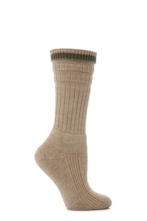 Ladies 1 Pair HJ Hall Softop Mid Weight Trail Socks