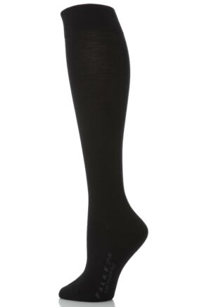 Ladies 1 Pair Falke Soft Merino Wool Knee High Socks