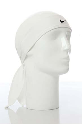 Mens and Ladies Nike Dri-Fit Head Tie 40-Inch White