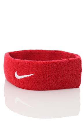 Mens and Ladies 1 Pack Nike Swoosh Headband Varsity Red