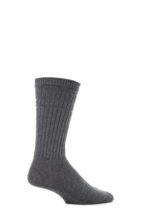 Mens 1 Pair HJ Hall Thermal Wool Softop Socks