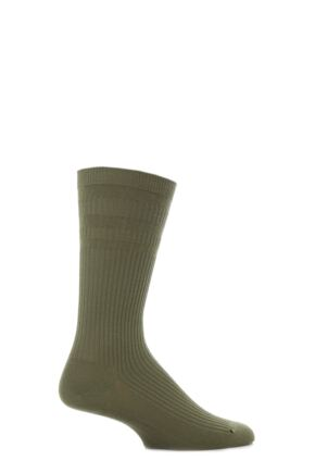 Mens 1 Pair HJ Hall Original Cotton Softop Socks