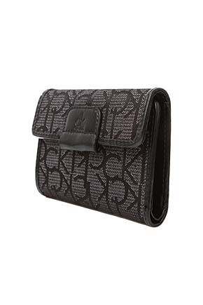 Ladies Calvin Klein Logo Purse For Notes, Cards and Coins  50% OFF