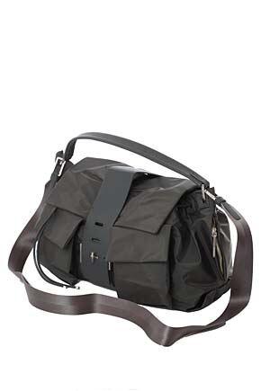 Ladies Calvin Klein Large Hobo Nylon Handbag - Sale Grey